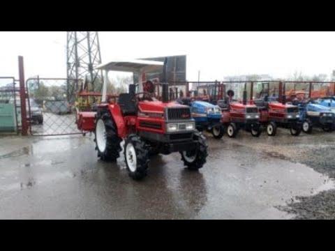 Видео трактора Yanmar FX24D