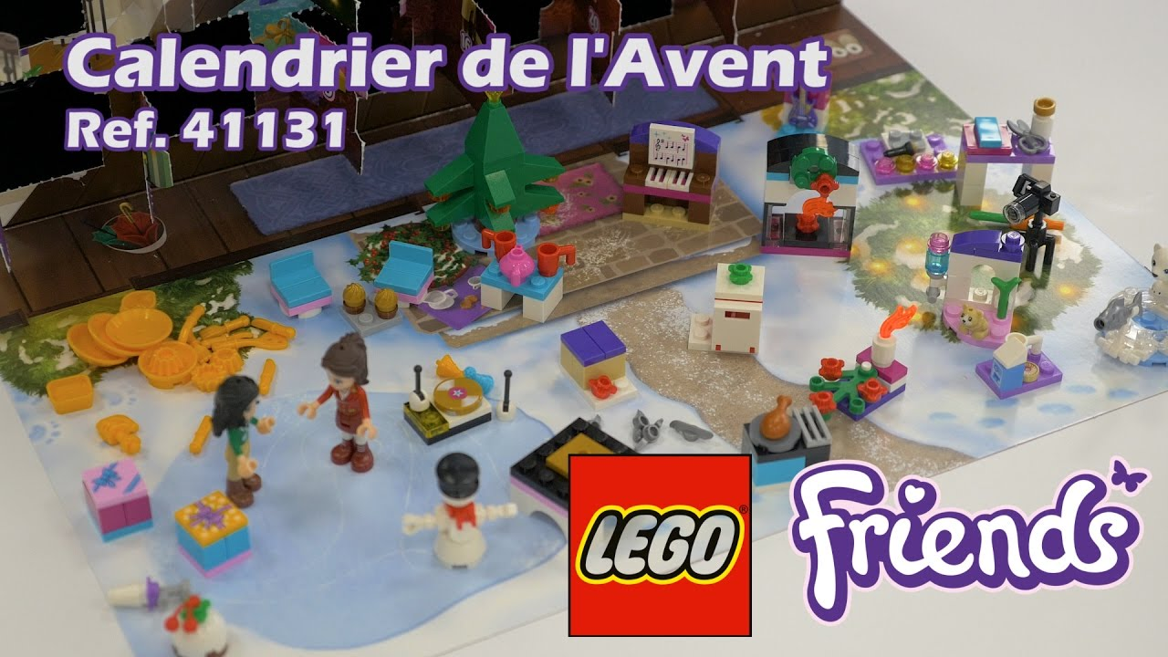 lego friends calendrier de l 39 avent 41131 youtube. Black Bedroom Furniture Sets. Home Design Ideas