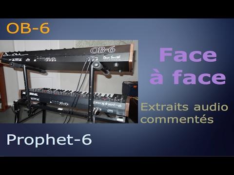 OB6 vs Prophet 6: le face à face