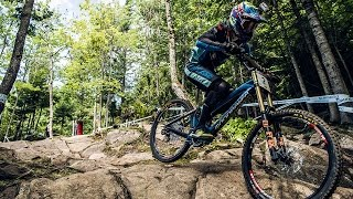 Danny Hart's BLAZING MTB Winning Run at Mont-Sainte-Anne | UCI MTB World Cup 2016(Watch UCI's fastest riders tear up the Mont-Sainte-Anne course in the full event replay: http://win.gs/UCI16CA Danny Hart was victorious in Mont-Sainte-Anne, ..., 2016-08-09T20:45:17.000Z)