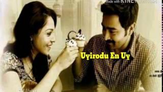 Tamil Whatsapp Status || Mella Sirithai En Ullam Sarithai || Kalyana Smaiyal Sadham
