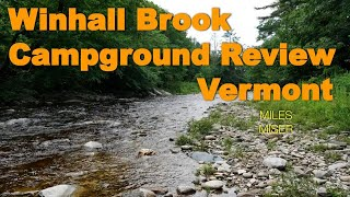 WinHall Brook Campground Vermont