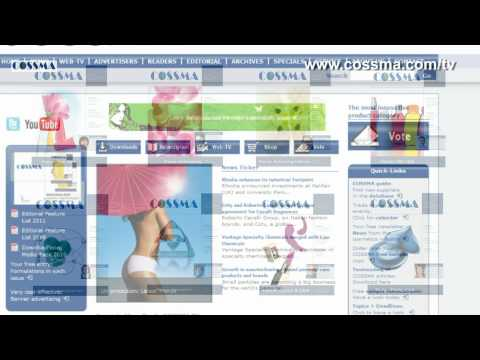 COSSMA: A Wealth of Information for the Personal Care and Detergent Industry