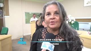 Sessão solene em homenagem as mulheres em Morada Nova. Homenageadas.