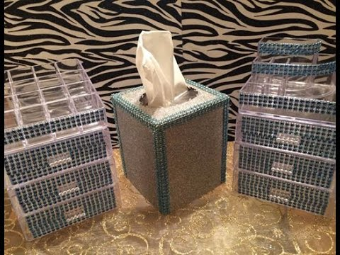 DIY Dollar Tree Project Share & Tissue Box Tutorial