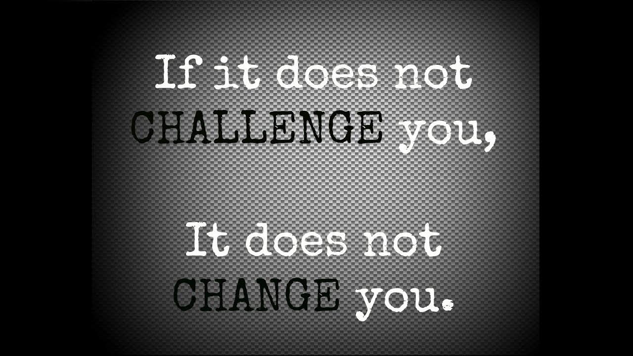 challenge i faced in my life Unfortunately, it's more common for our attitude to fall short of rising to life's  challenges i have come to the conclusion there are five reasons our.