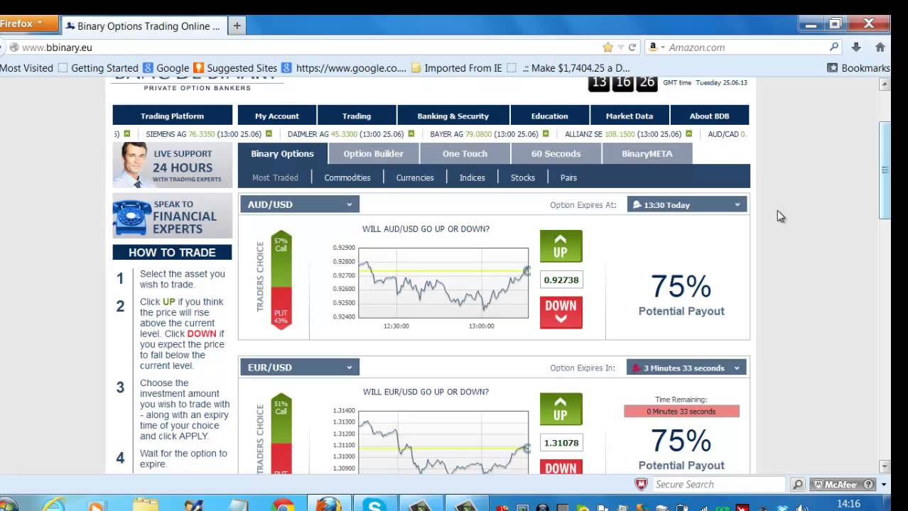 Binary trading platforms us