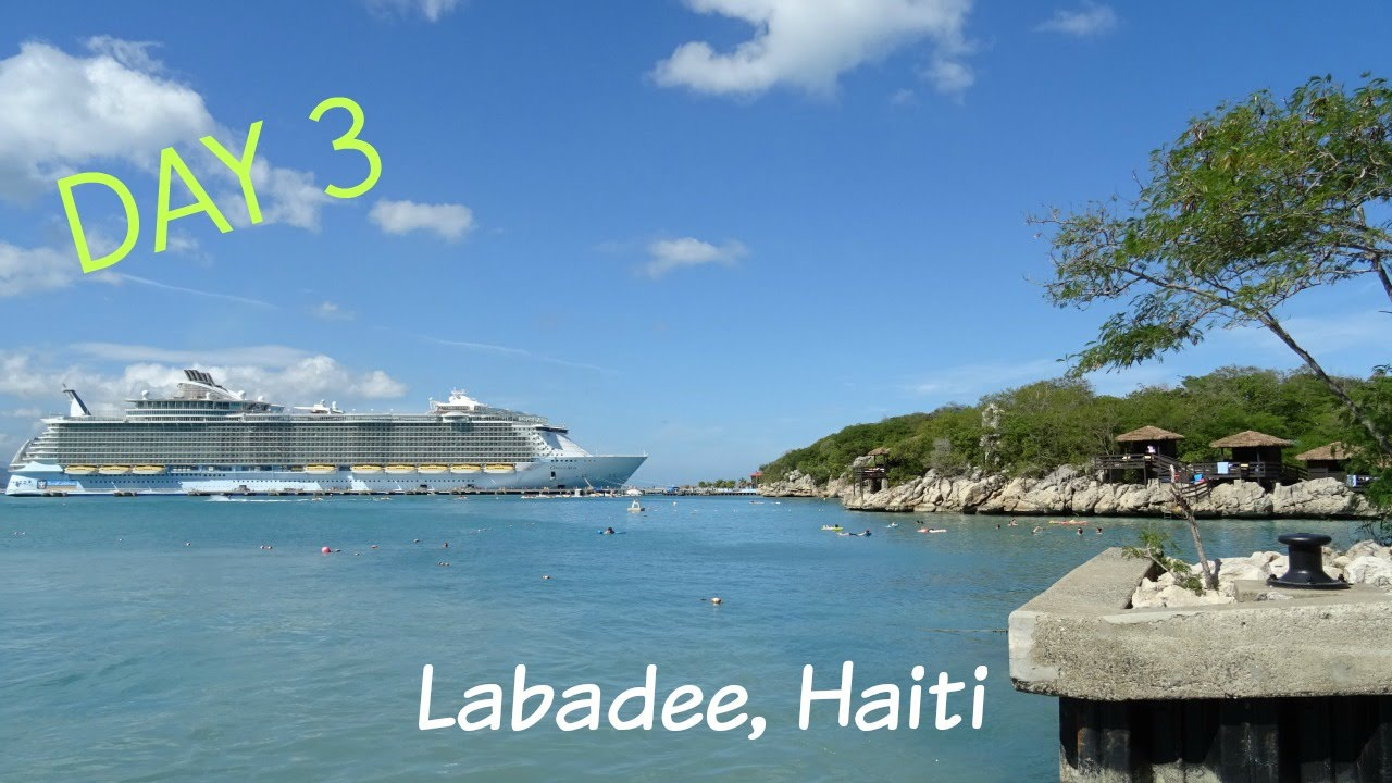 Oasis Of The Seas Day 3 Labadee Haiti Beach Snorkelling And Aqua Show You