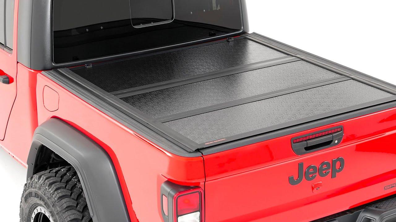 Low Profile Hard Tri Fold Tonneau Cover