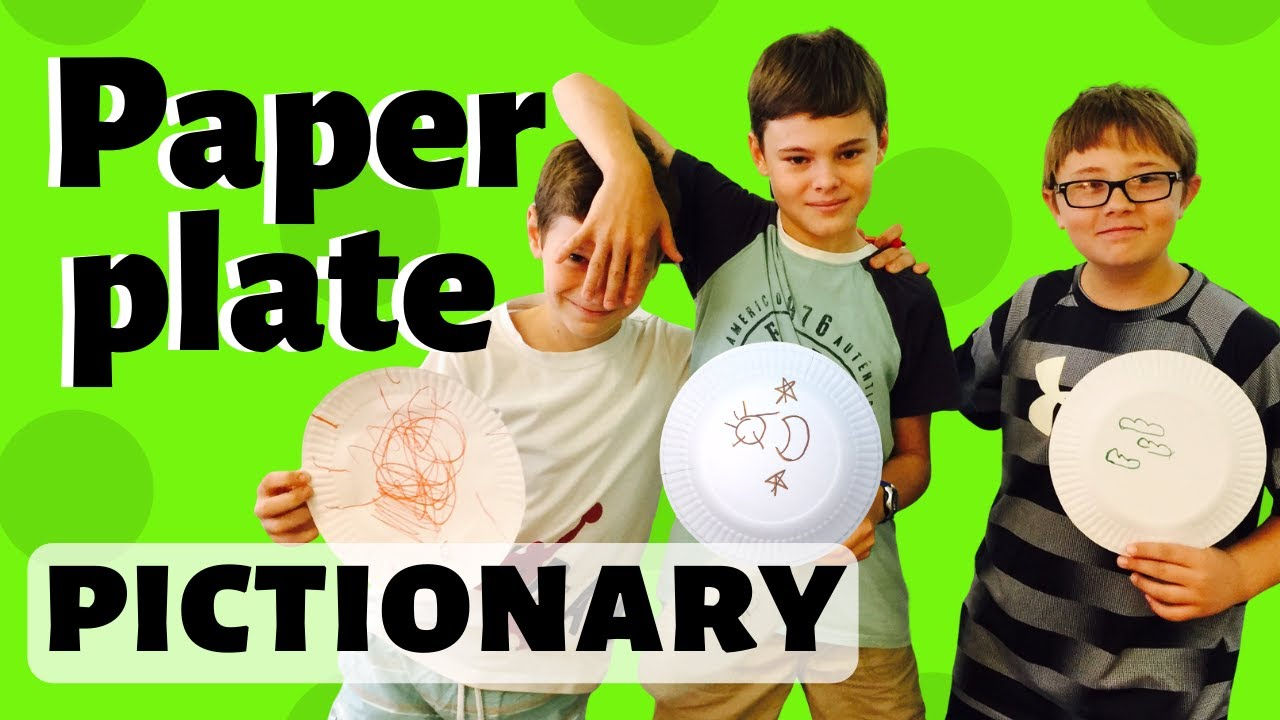 Paper plate pictionary game for kids and any topic youtube wrightideaswithsusan biblelessonsforkids sundayschool solutioingenieria Gallery