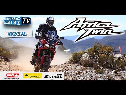 Testbericht CRF1000L Africa Twin – Fahrbericht, Technische Daten im Motorradreise.TV Spezial