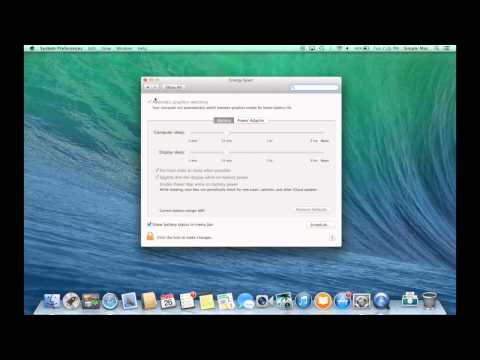 """How to activate the high end graphics card on a 15"""" MacBook Pro with Retina display"""