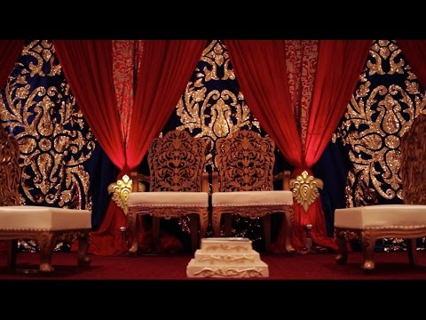 Boston Indian/American Wedding Mandap, Decor, and Floral - Tiffany & Dan 5/16/15