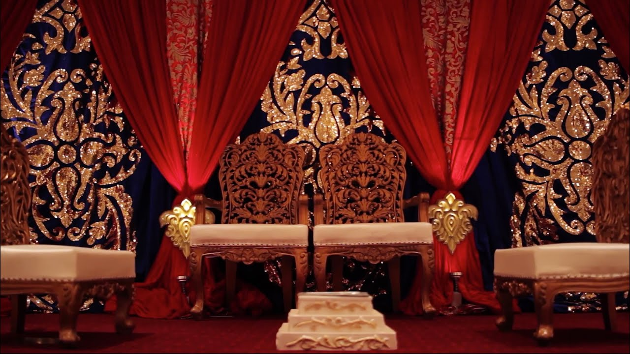 Boston Indianamerican Wedding Mandap Decor And Floral Tiffany