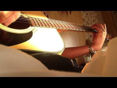 can nha mau tim guitar