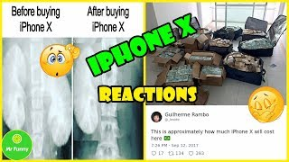 The Funniest Reactions To New iPhone X That Apple Fans Probably Won't Like | Mr Funny