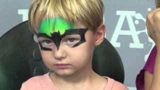 The Dark Bat - Face Painting Tutorial Thumbnail