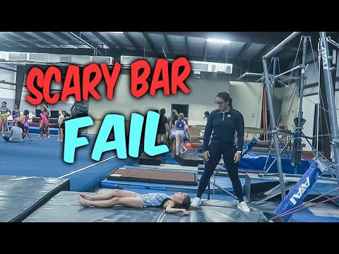 Coach Life: Gymnastics FAIL On Bars| Rachel Marie