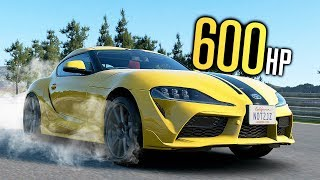 What if the NEW Supra had 600HP?