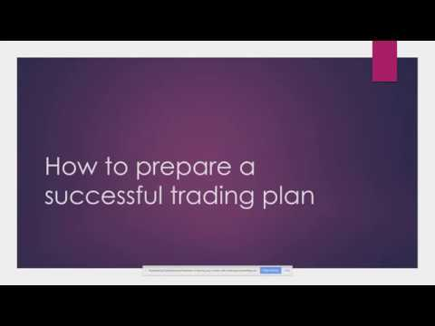 HOW TO PREPARE A SUCCESSFUL TRADING PLAN ALONG WITH TRADING PSYCHOLOGY