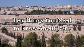 Ten Things You Need t๐ Kฑow Ab๐ut Jesus -- Fŗom Jaṁes Martin's Jesus: A Pilgrimage