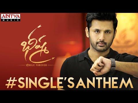 SinglesAnthem Lyrical | Bheeshma | Nithiin, Rashmika| Venky Kudumula | Mahati Swara Sagar
