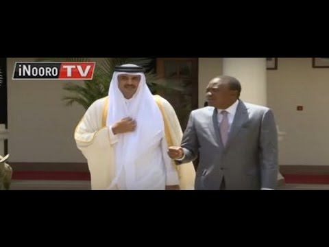 Emir wa Qatar Sheikh Tamim Bin Hamad Al-Thani guceera bururini
