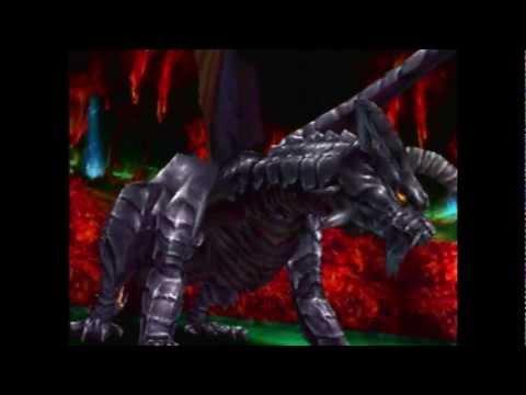 Chrono Cross - 132 - Another Marbule - Boss: Black Dragon