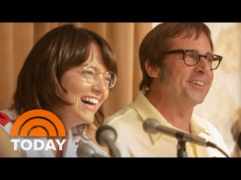 'Battle Of The Sexes' Official Trailer (2017) - Steve Carell,  Emma Stone | TODAY