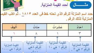 رياضيات الصف الثالث (مطور) الفصل الأول www.edah1.com