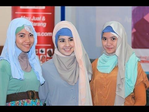 c6ca55244  أخبار الآن - أسبوع لعروض أزياء المحجبات في العاصمة الإندونيسية - YouTube