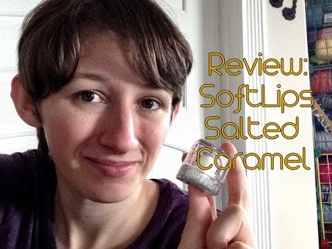 Review - SoftLips Cube Salted Caramel Lip Balm