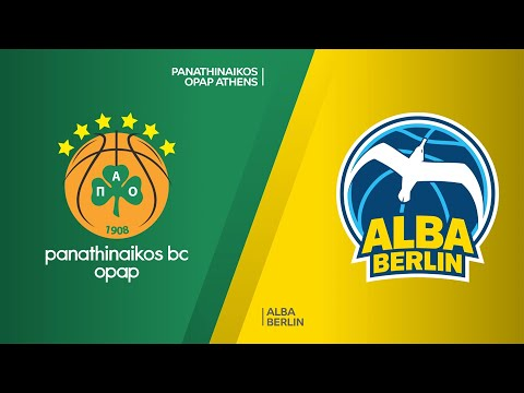 Panathinaikos OPAP Athens - ALBA Berlin Highlights | Turkish Airlines EuroLeague, RS Round 15