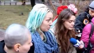 Femen в руках лесоруба - секс тур по Беларуси(триллер)