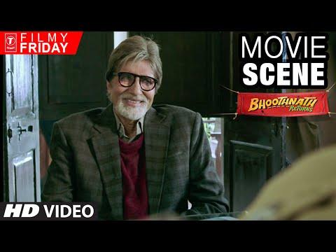 Amitabh Bachchan's Creative English Question | Bhootnath Returns Movie Scene | T-Series Filmy Friday