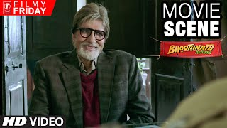 Amitabh Bachchan's Creative English Question | Bhootnath Returns Movie Scene | T-Series Filmy Friday