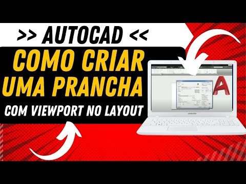 AutoCAD: Como criar uma prancha com Viewport no LayOut
