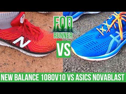 New Balance 1080v10 VS Asics NOVABLAST