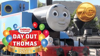 """Day Out With Thomas - """"The Celebration Tour"""" 2015!"""