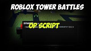 Tower Battles Roblox Hack Script Money Pastebin