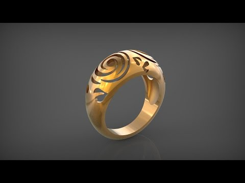 Кольцо. Ring Tutorial. Rhinoceros 3D