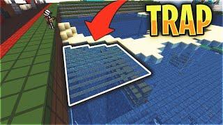 HIDDEN UNDERWATER FALL TRAP - LIVING UNDERWATER #2 | Minecraft HCF