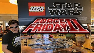 Lego Star Wars Force Friday 2017 - The Quest For Free Lego!