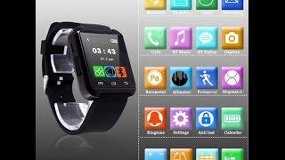 Pasos para Instalar, Sincronizar y Configurar Smart Watch U8 y Caraceterísticas