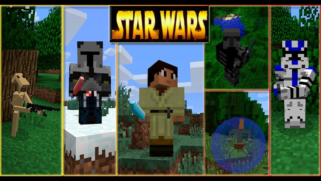 Скачать игру майнкрафт звездные войны но не видео