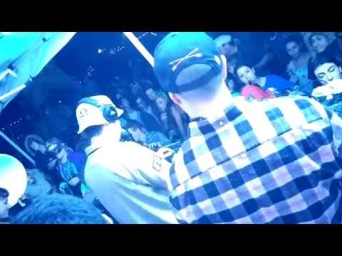 The Martin Brothers throwing down a DnB set at Dirtybird Campout