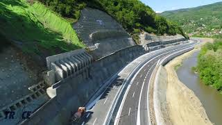 E75 Highway in Grdelica Valley - Serbia, few days before opening / Е75 - Гърделица, Сърбия
