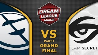 EG vs Secret Grand Final Leipzig Major 2020 DreamLeague 13 Highlights Dota 2 - [Part 1]
