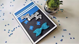 How to Make Beautiful Handmade Father's Day Card | Father's Day Card Making Using Chart Papers
