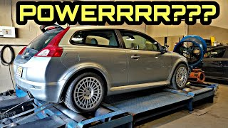 """How Much Power Did Elevate's 3"""" Downpipe & Tune Add To Our Volvo C30 (Results May Surprise You)"""